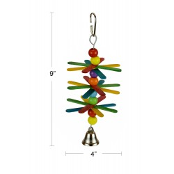 (A049) Whirly Flower Parrot...