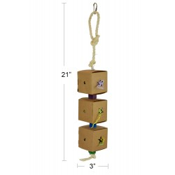 (A054-2) Bird Foraging Toy...