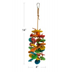 (A723) Spinning Falls Bird Toy