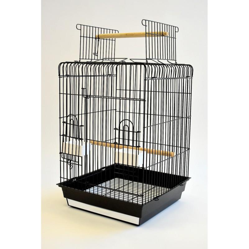 Open Top Parrot Cage | Glitter Pet Supplies