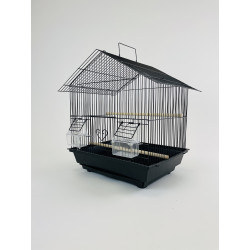 (1407) Small Bird Cage with...